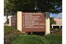 Monument Lettering for Commerce Park Marietta GA